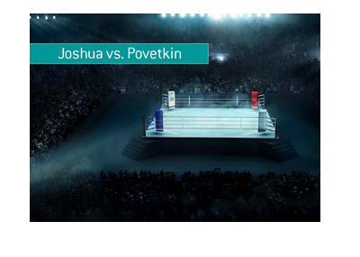 Boxing match between Anthony Joshua and Alexander Povetkin - Bet on it!