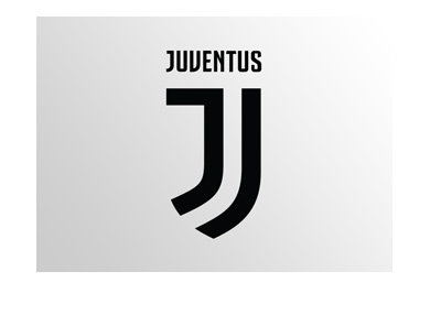 Juventus Logo - 2018-19 edition - Over gradient grey background.