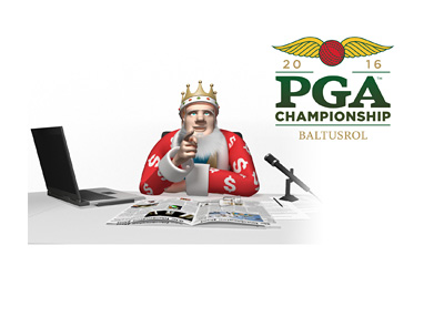The Sports King presents: 2016 PGA Championship - Tournament logo - Baltusrol - Golf
