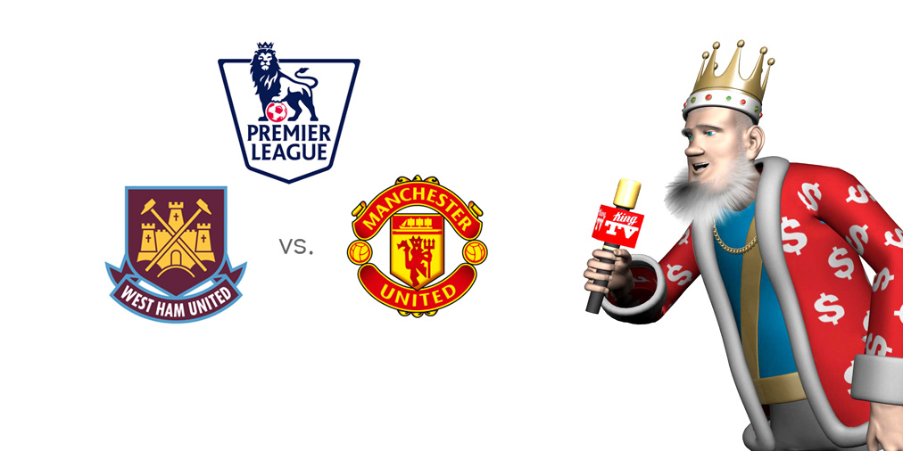The Sports King presents the English Premier League matchup between West Ham United and Manchester United - 2015/16 season.
