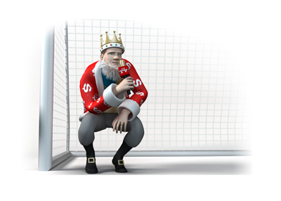The Football King is in front of the net providing his thoughts on the upcoming Manchester Derby