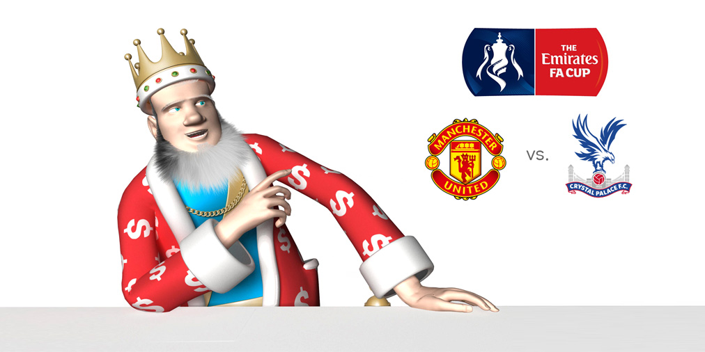The Sports King is presenting the upcoming 2016 FA Cup final between Crystal Palace and Manchester United