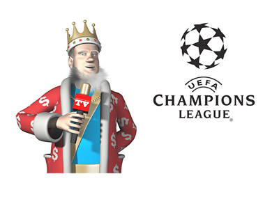 The King discusses the 2015/16 UEFA Champions League draw and the winning odds - KING TV