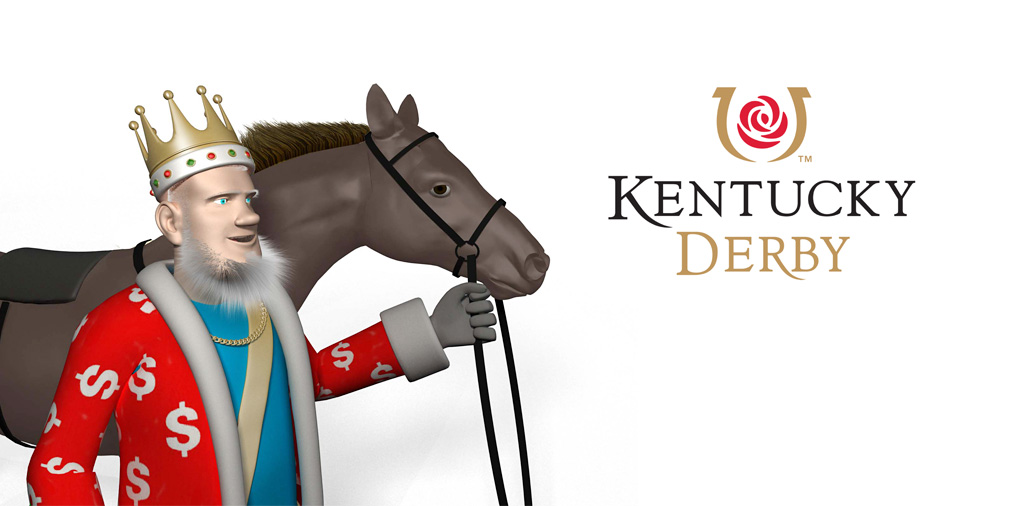 Kentucky Derby is coming - The King is ready - Are you?