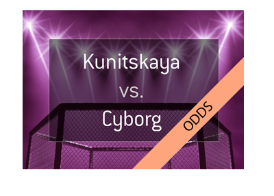 MMA matchup - Female fighters - Cyborg vs. Yana Kunitskaya - Bet on it.