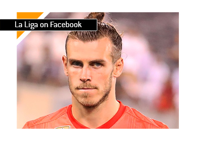 Spanish La Liga will be available live on Facebook India.  In photo: Gareth Bale of Real Madrid.