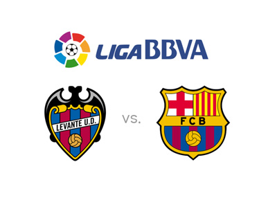 Spanish La Liga BBVA - Levante vs. Barcelona - Matchup, preview and odds - League logo and team crests