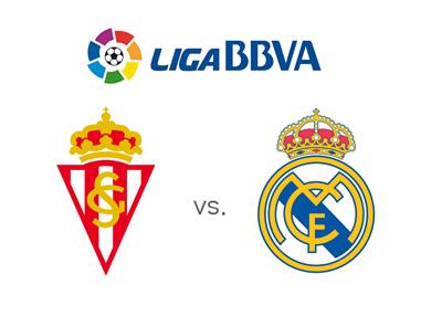 Sporting Gijon vs. Real Madrid - Spanish La Liga matchup and odds to win