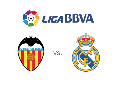 Spanish La Liga matchup - Valencia vs. Real Madrid - Who is the favourite to win this one?