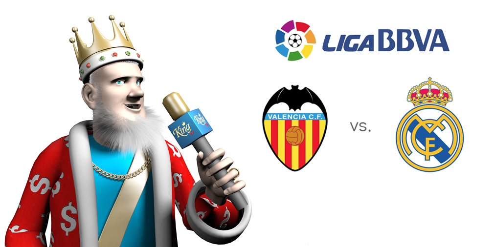 The Sports King is going over the upcoming match between Valencia and Real Madrid in the Spanish La Liga