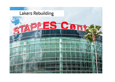 The Los Angeles Lakers are rebuilding their team and going Big doing it.