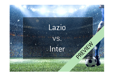 Bet on last round of Italian Serie A - Lazio vs. Inter - Winner goes to the Champions League next season. May 20th, 2018.