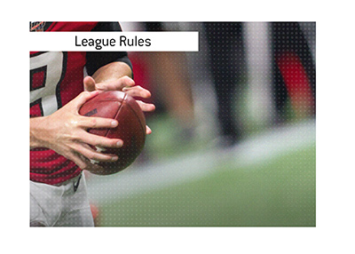 A bit about the NFL rules in regards to players only being allowed to play once per week.