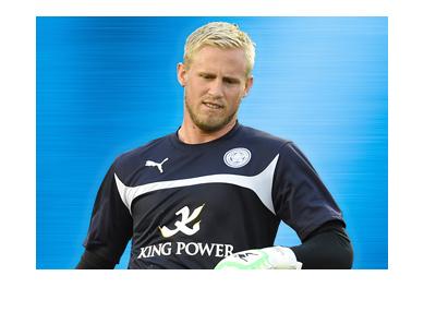 Kasper Schmeichel - Leicester City FC goalkeeper - 2016/17 serason.