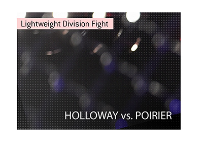 The lightweight interim title is on the line.  Max Holloway will be taking on Dustin Poirier.  Bet on it!