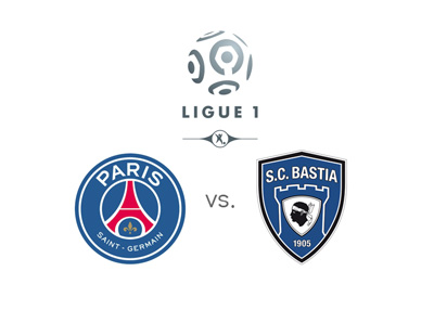 French Ligue 1 matchup - Paris Saint-Germain vs. Bastia - Matchup, logos, preview and odds