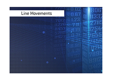 Significant line movement is observed in the American football draft.