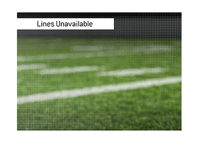 The betting lines involving a popular football player are not available.