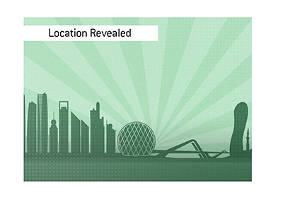 The Fight Island location has been revealed.  Abu Dhabi is the spot.