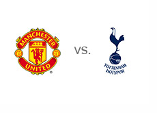 Manchester United vs. Tottenham Hotspur - Matchup and team logos