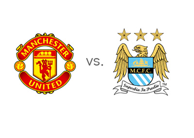 Manchester Derby - Man United vs. Man City - Matchup - Odds - Team Badges