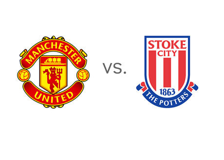 Manchester United vs. Stoke - Matchup - Odds - Preview - Team Logos / Crests / Badges
