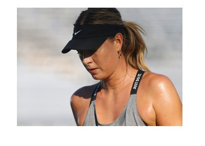 Maria Sharapova - Down to earth look - US Open - New York.