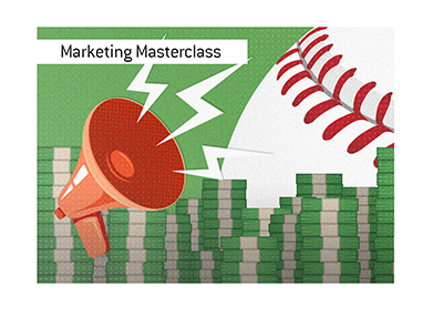An old school marketing pro is putting on a masterclass with his latest campaign.