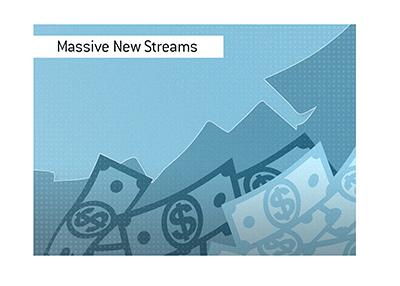 Massive new revenue streams seem to await the states that opt in.