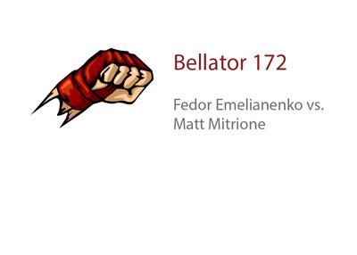 Fedor Emelianenko vs. Matt Mitrione - Bellator 172 matchup - Odds and Picks - MMA