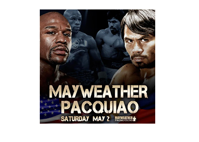 Mayweather Promotions - Mayweather vs. Pacquiao - Event Poster - May 2015