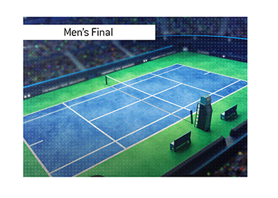 The mens final of the popular USA based tournament is on.  Bet on it!