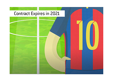 Barcelona and Lionel Messi have a contract until end of 2021.