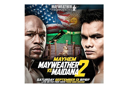Meywether vs. Maidana 2 - Event Poster