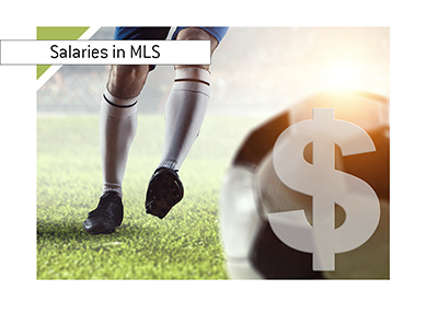 The report on salaries in the MLS - Season 2018 - Illustration.