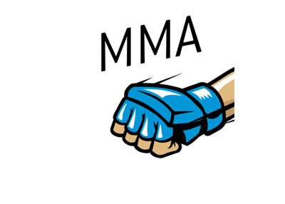 The Sports King MMA header featuring a blue glove and lettering.
