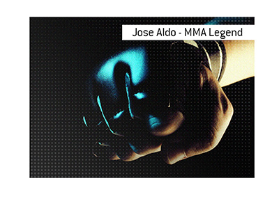 Jose Aldo is a future hall of famer in the sport of MMA - A UFC legend.
