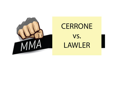 MMA matchup - UFC - Donald Cerrone vs. Robbie Lawler.