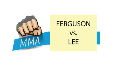Tony Ferguson vs. Kevin Lee - MMA matchup - Mixed Martial Arts - UFC event.