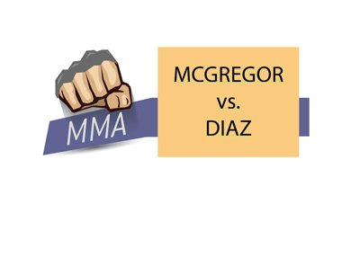 Mixed Martial Arts matchup - Conor McGregor vs. Nate Diaz III - Fight odds.