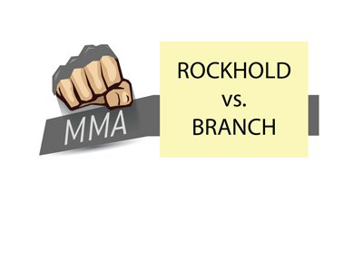 MMA Matchup - Luke Rockhold vs. David Branch - UFC fight.
