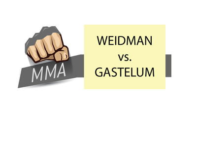 MMA matchup - Chris Weidman vs. Kelvin Gastelum - Who is the favourite to win?