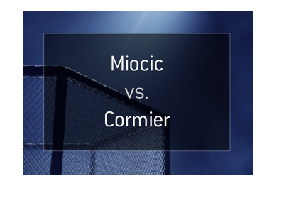 Odds for the upcoming MMA fight between Daniel Cormier and Stipe Miocic - UFC 226