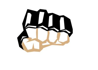 MMA Punch - Illustration - Artistic.