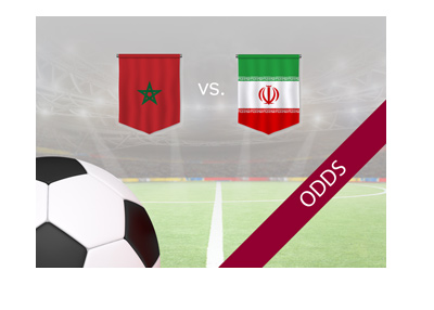 Morocco vs. Iran - 2018 World Cup Russia group stage match - Odds and preview - Bet on it!