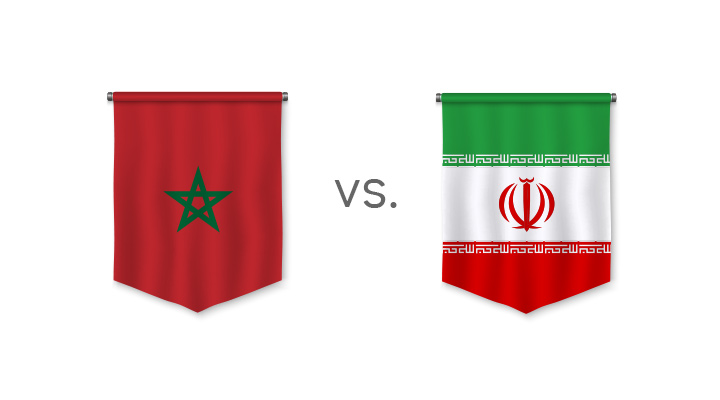 Matchup betting and odds - Morocco vs. Iran - Who is the favourite?