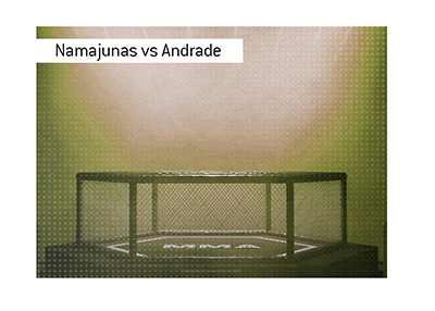 The UFC event in Rio de Janeiro, Brazil is coming up.  The feature fight is Namajunas vs. Andrade.  Bet on it!