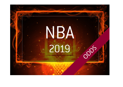 The NBA 2018-19 odds.  Who is the favourite to win the strongest basketball league in the world?
