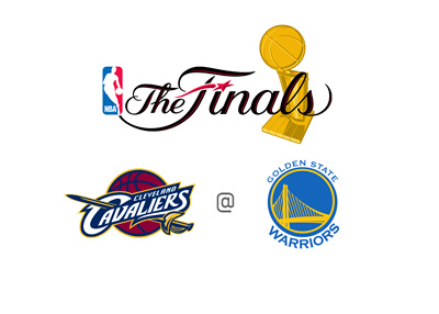 NBA Finals 2015 - Cleveland Cavaliers vs. Golden State Warriors - Matchup, Odds and Logos