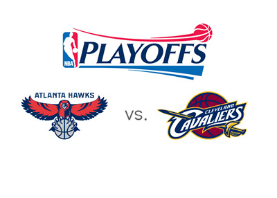 NBA Playoffs - Hawks vs. Cavaliers - 2015 - Matchup, Odds and team logos